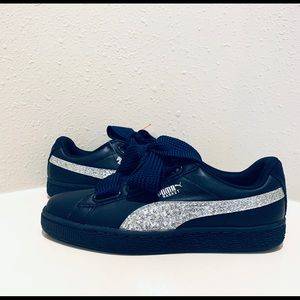 puma basket navy
